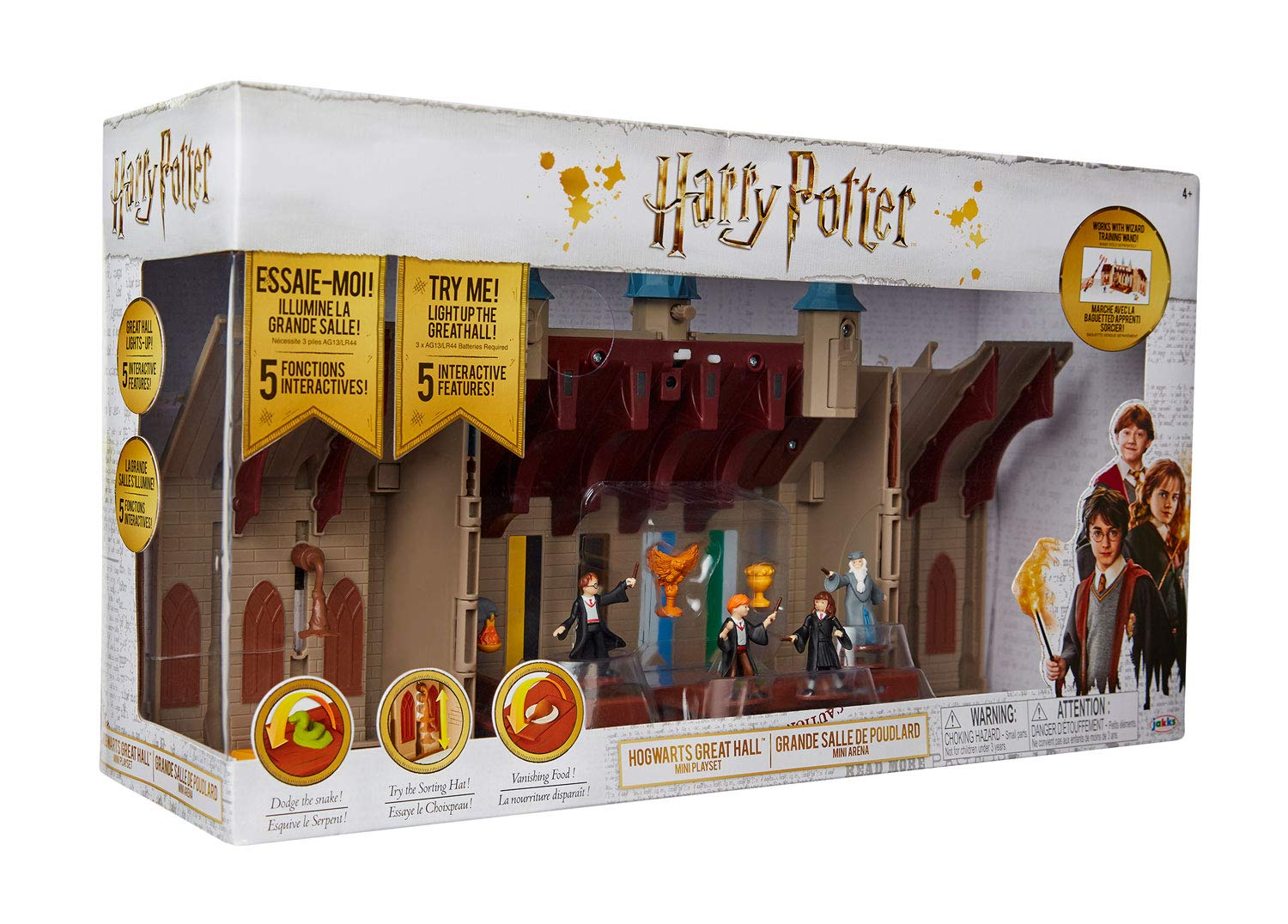 Harry Potter - Playset Hogwarts Great Hall 2 em 1 - Sunny