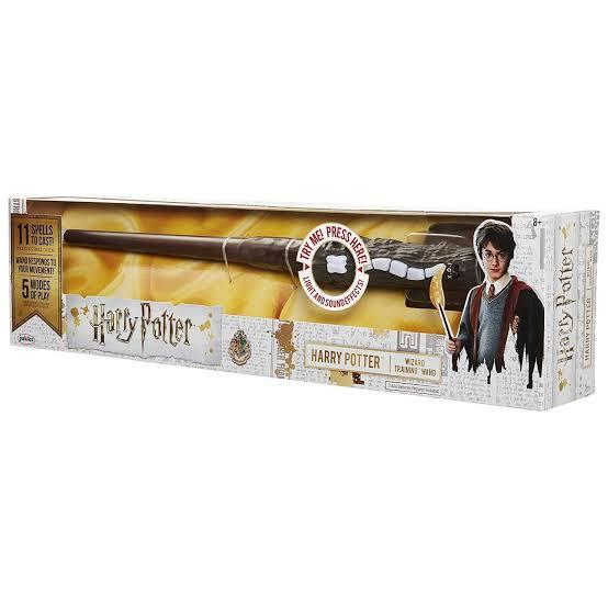 Harry Potter - Varinha Mágica com Luz e Som - Original Sunny