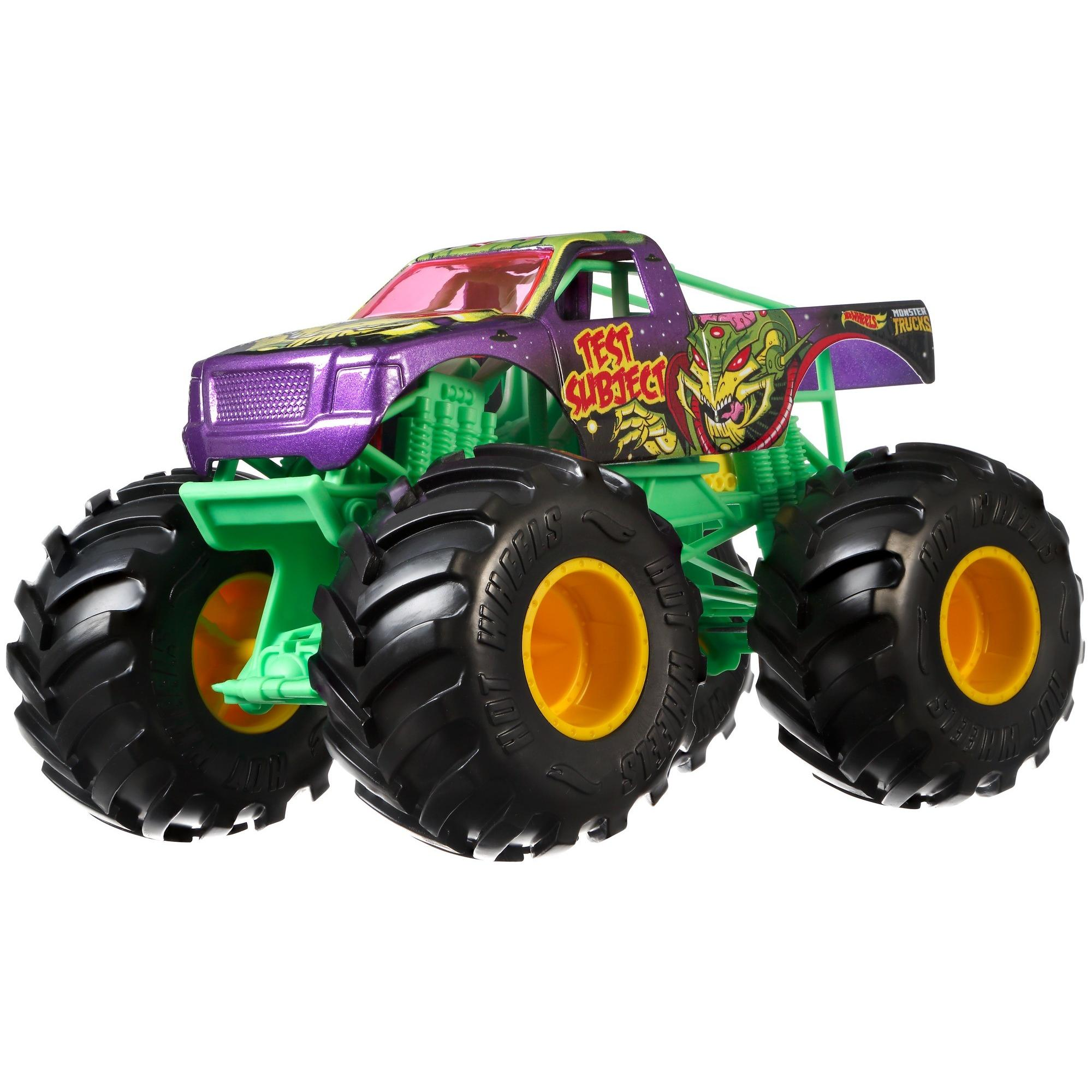 Hot Whells Monster Truck 1:24 - Test Subject - Mattel