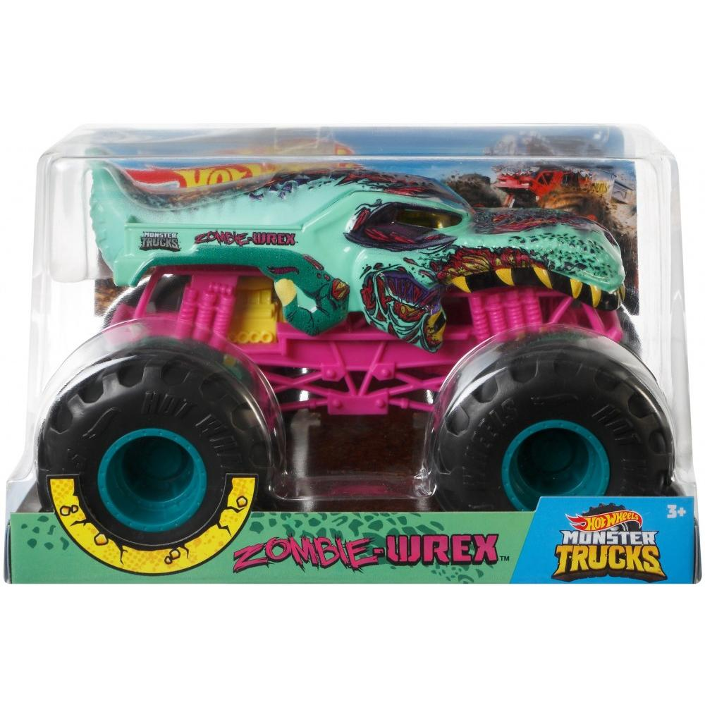 Hot Whells Monster Truck 1:24 - Zombie-Wrex - Mattel