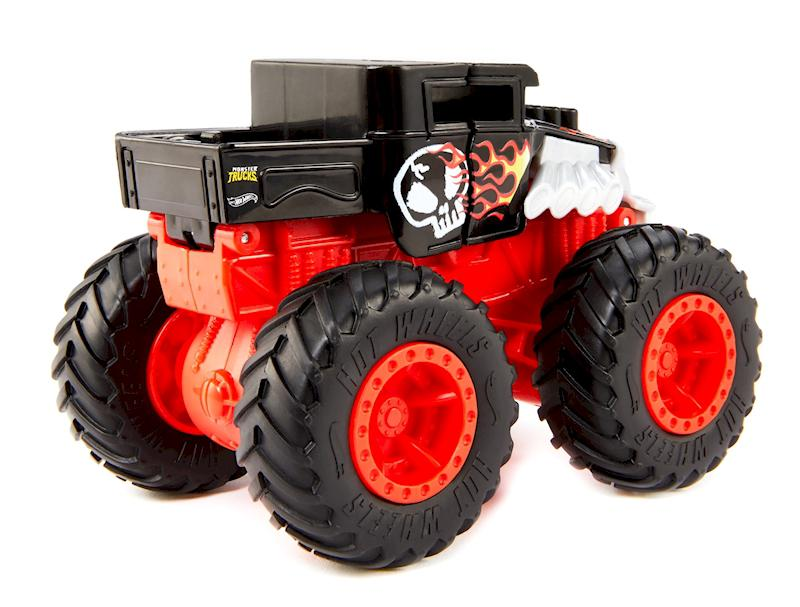 Hot Whells Monster Truck Bash-Ups - Bone Shaker  - Mattel