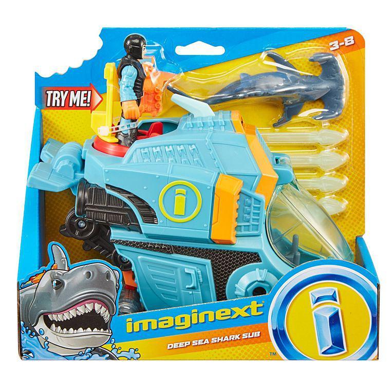 Imaginext Oceano - Veiculo Rastreador de Tubaroes - Mattel