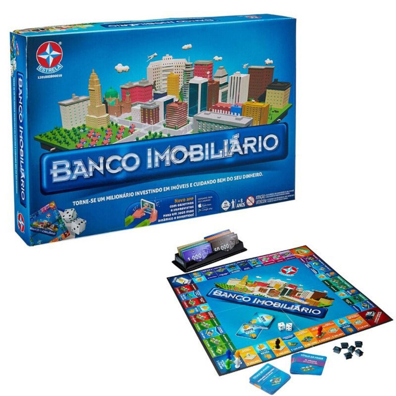 Jogo Banco Imobiliário - Novo com Aplicativo - Estrela