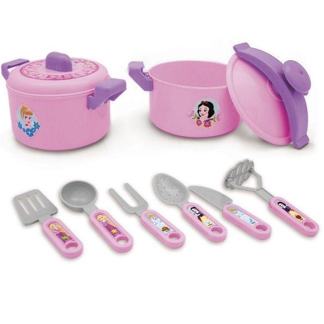 Kit Cozinha infantil - Panela etc- Disney Princesa - Toyng