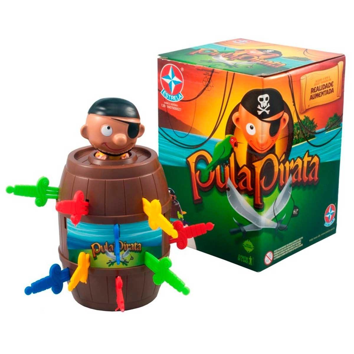 Jogo Pula Pirata - Com Realidade Aumentada Estrela Original