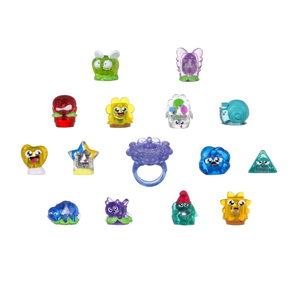 Kit Mini Aneis - Coleção Hanazuki Tesouros  - Hasbro