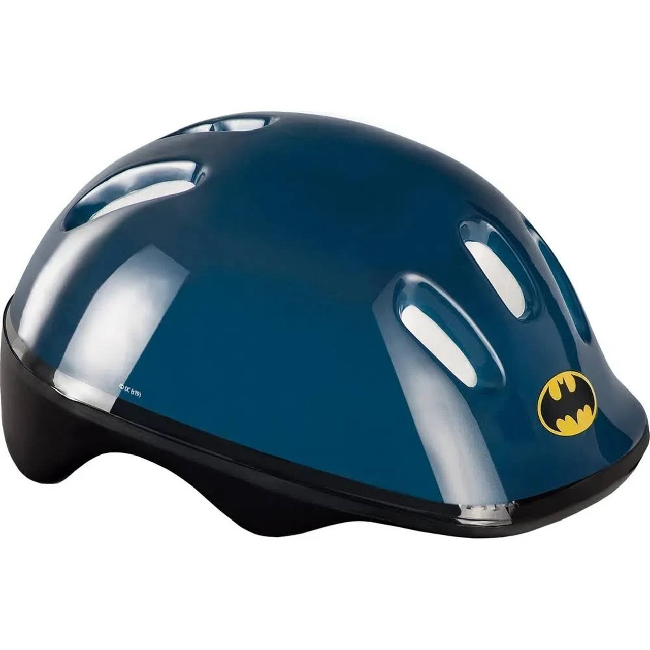 Kit Patins Infantil Com Acessórios Batman Tamanho 37 A 40