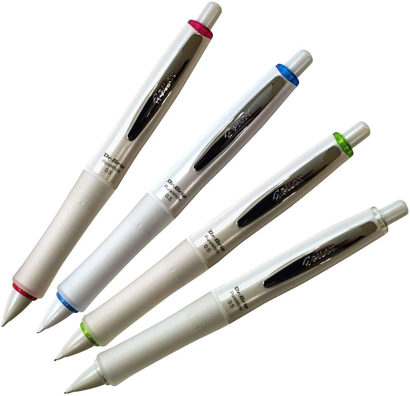 Lapiseira - Pilot - Dr. Grip Pure White Shaker 0.5mm - Japan