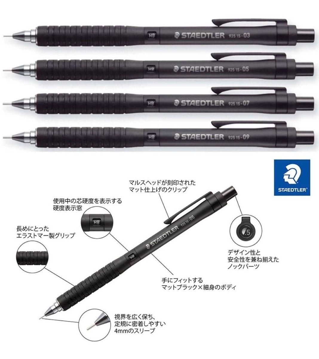 Lapiseira - Staedtler 925 15 - 0.3 , 0.5 , 0.7 ou 0.9mm