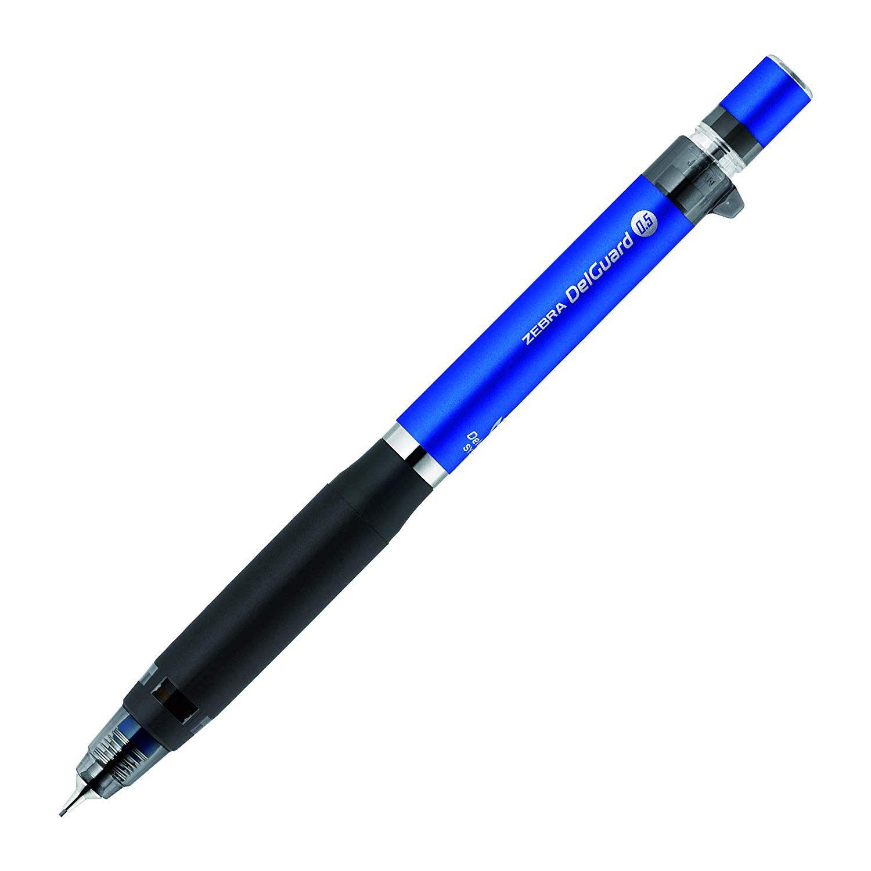 Lapiseira Zebra Delguard Type ER 0,5mm  cor Azul - Japan