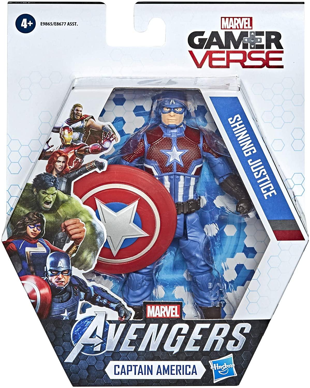 Marvel Avengers - Boneco Capitão América 15cm - Hasbro