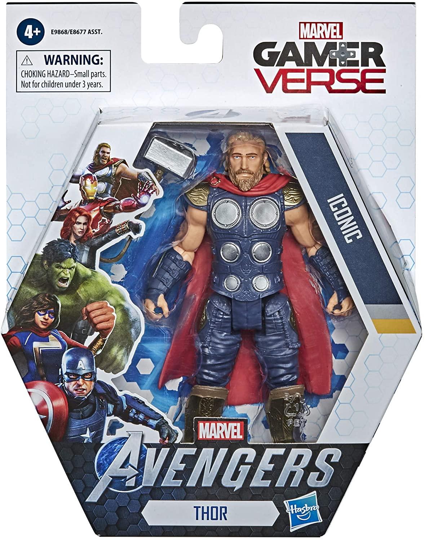 Marvel Avengers Boneco Thor Iconic 15cm - Game Verse Hasbro