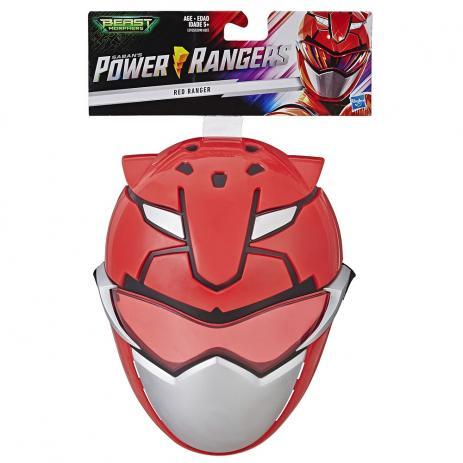 Mascara Power Rangers  - Red Ranger ( Ranger Vermelho ) - Hasbro E5898