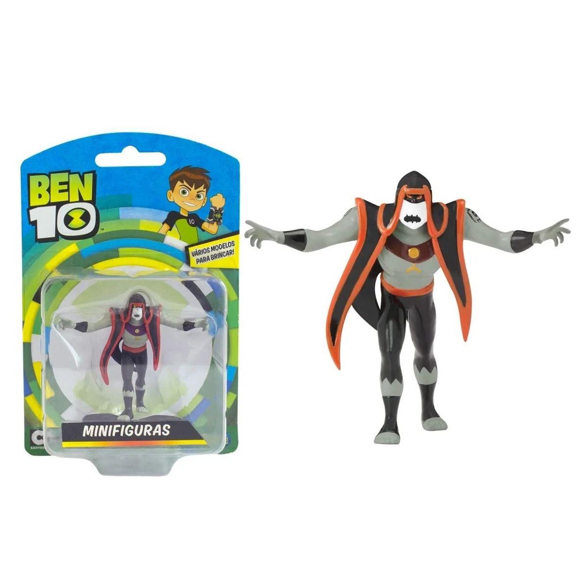 Mini Figuras - Ben 10 - Boneco Hex - Original Sunny