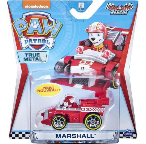 Mini Veiculo Patrulha Canina - Metal Ready Race Rescue - Marshall - Sunny