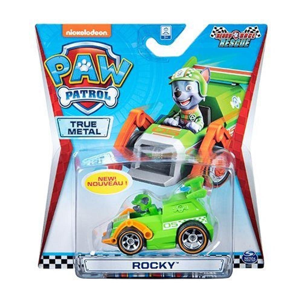Mini Veiculo Patrulha Canina - Metal Ready Race Rescue - Rocky - Sunny