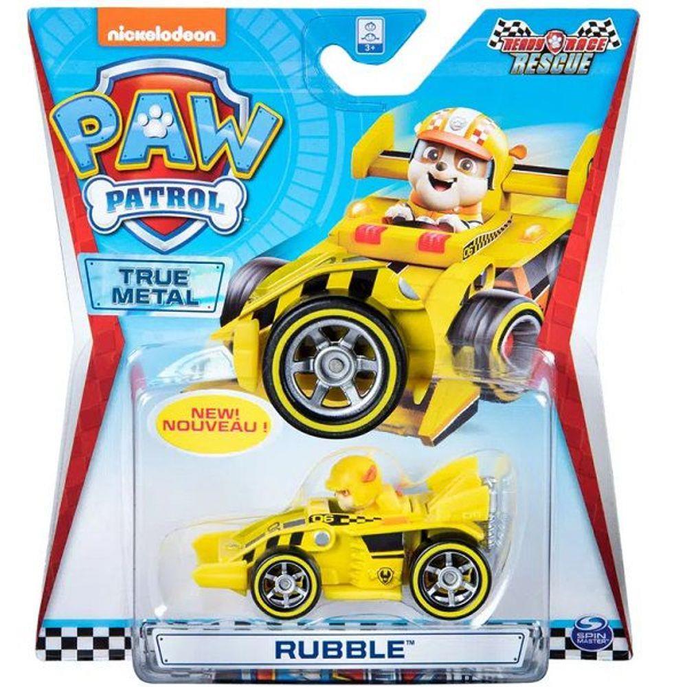 Mini Veiculo Patrulha Canina - Metal Ready Race Rescue - Rubble - Sunny