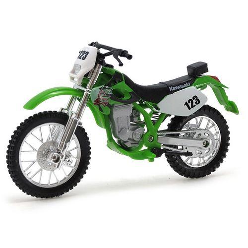 Miniatura Kawasaki Klx 250sr - 2 Wheelers - Fresh Metal - Maisto 1:18