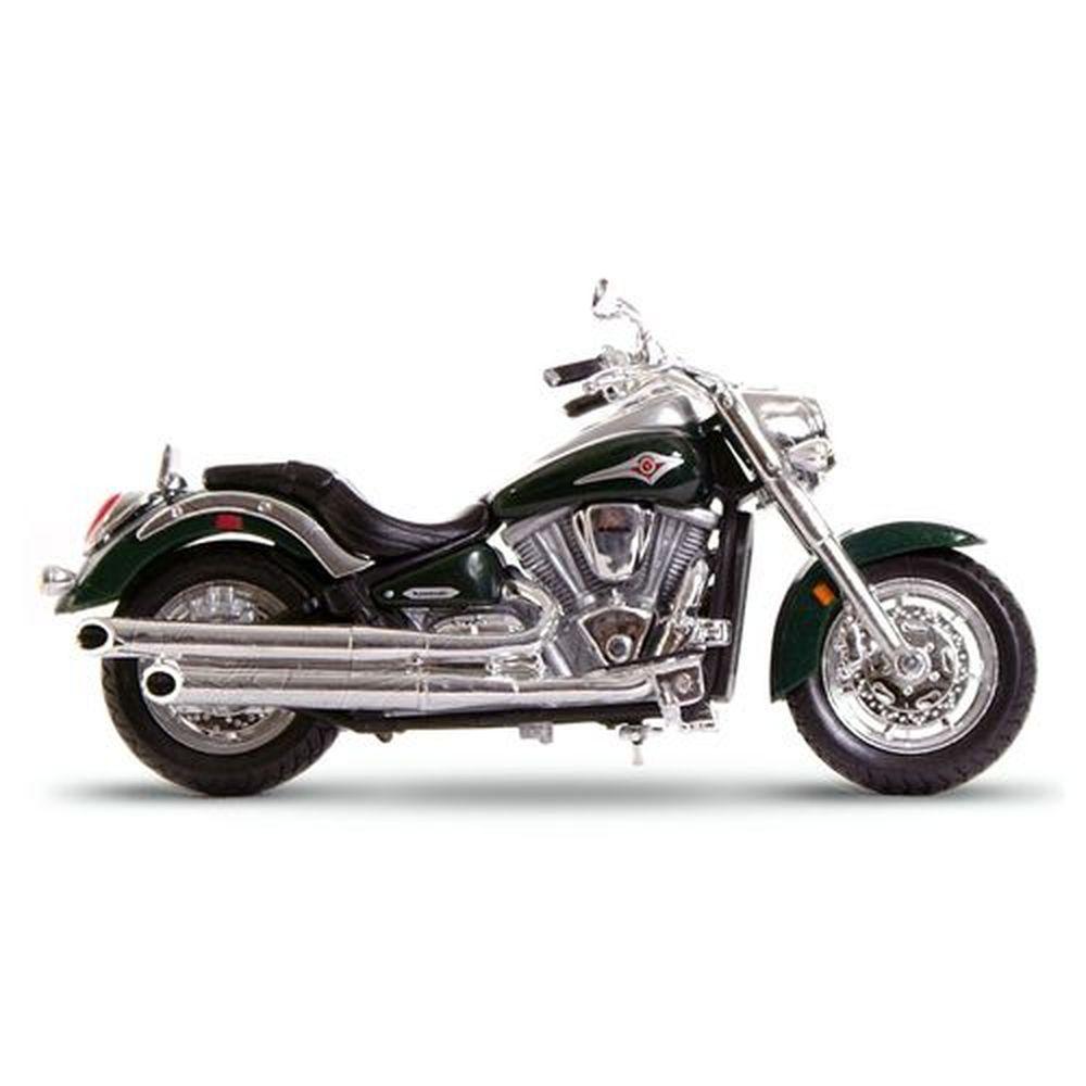 Miniatura Kawasaki Vulcan 2000  - 2 Wheelers - Fresh Metal - Maisto 1:18