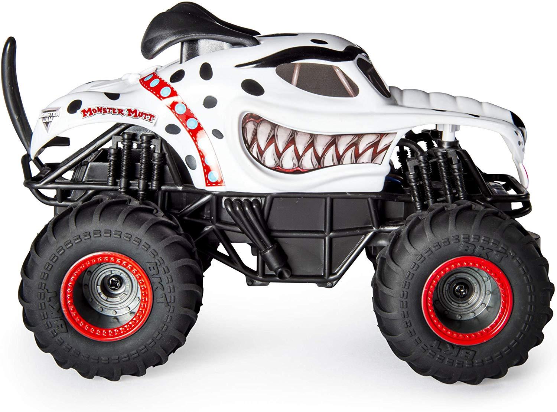 Monster Jam - Carro Controle Remoto - Mutt Dalmatian - Sunny