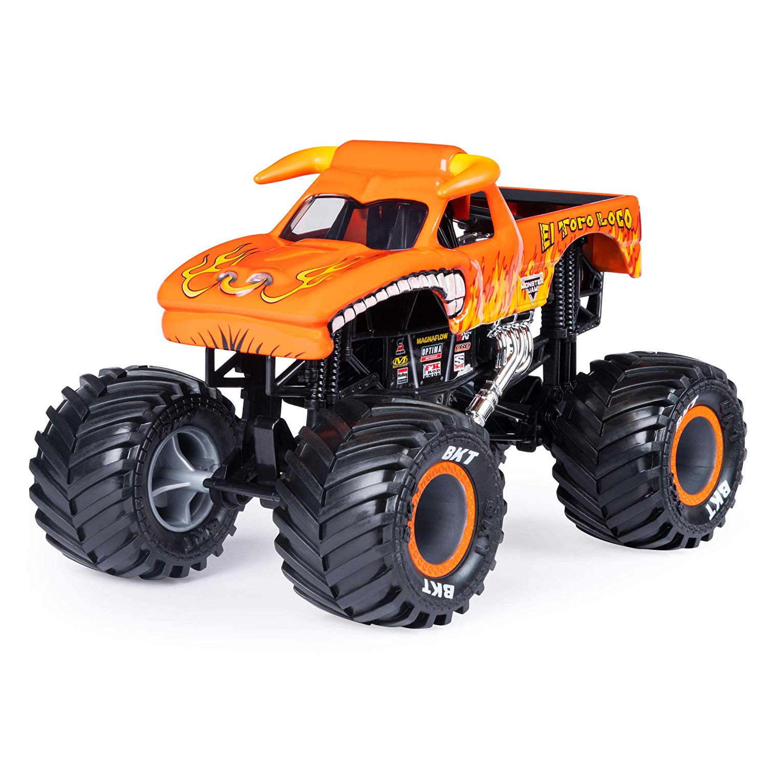 Monster Jam Diecast - El Toro Loco - Escala 1:24 - Original
