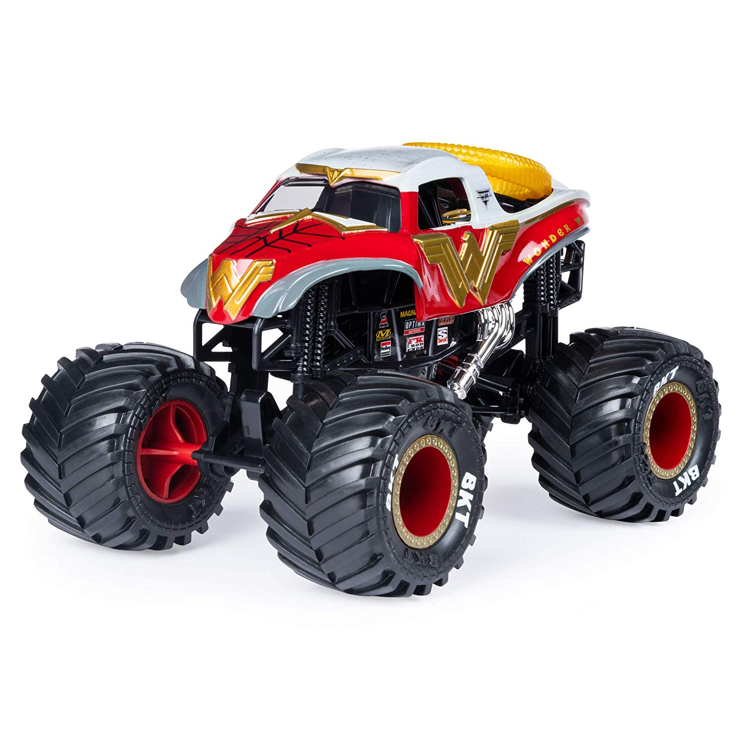 Monster Jam Diecast - Wonder Woman - Escala 1:24 - Original