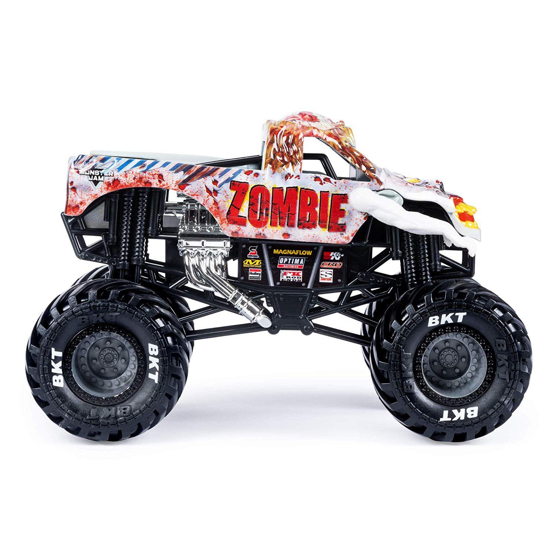 Monster Jam Diecast - Zombie Truck - Escala 1:24 - Original