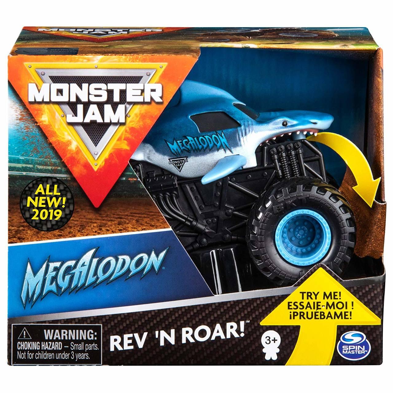 Monster Jam - Megalodon com Som - Escala 1:43 - Original