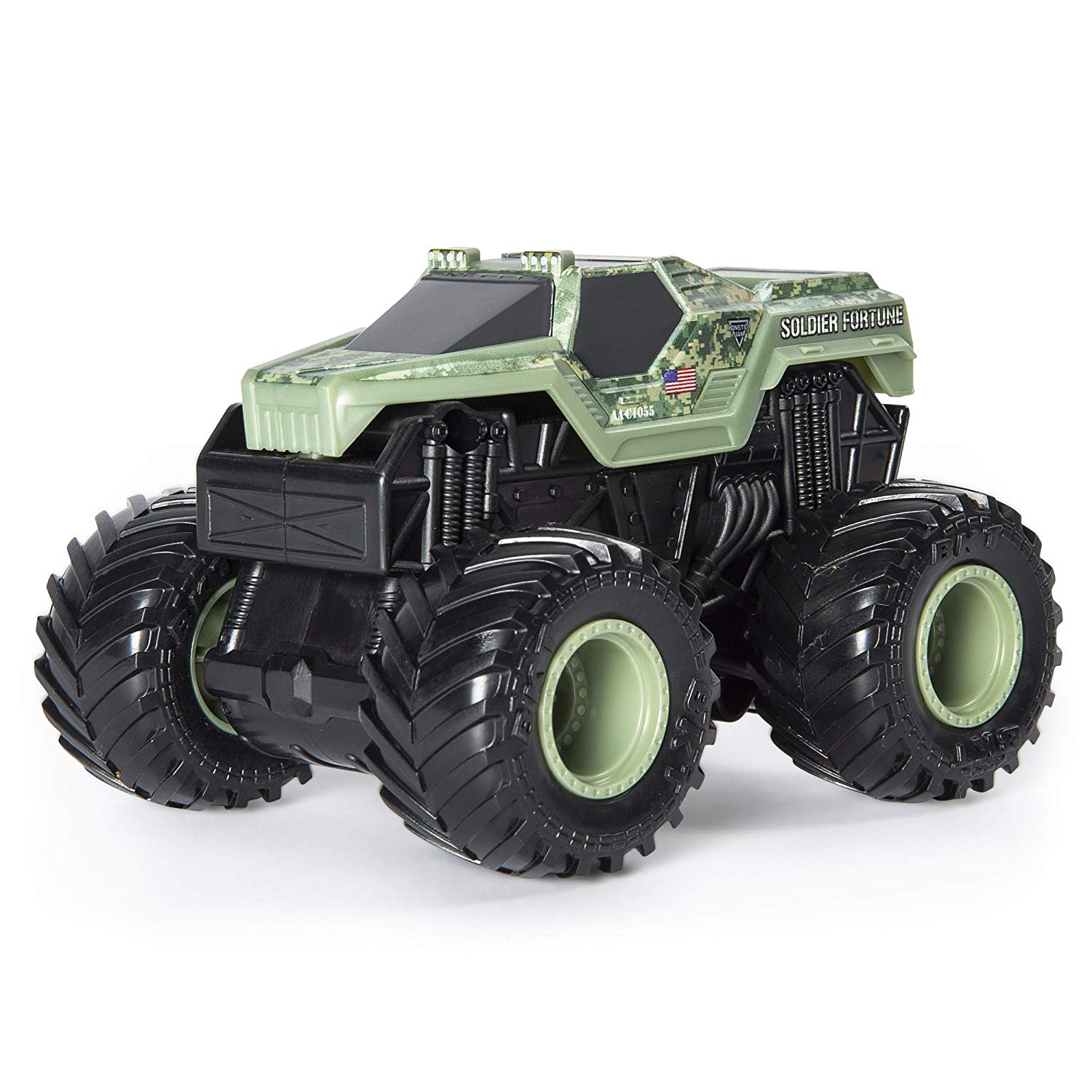 Monster Jam - Soldier Fortune com Som - Escala 1:43