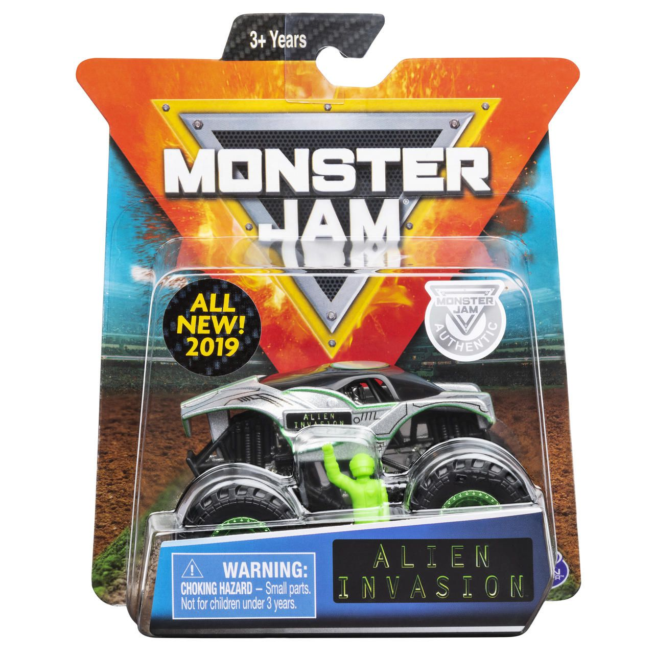 Monster Jam Truck - Alien Invasion - Escala 1:64 - Original
