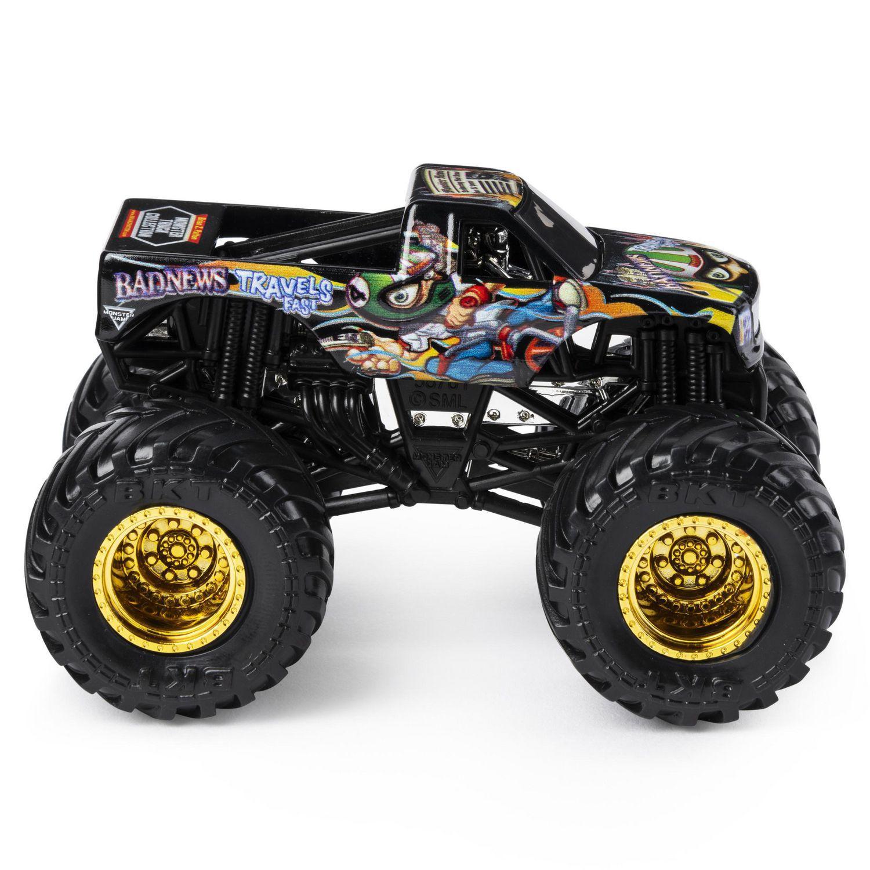Monster Jam Truck - Bad News Travel Fast - 1:64 - Original
