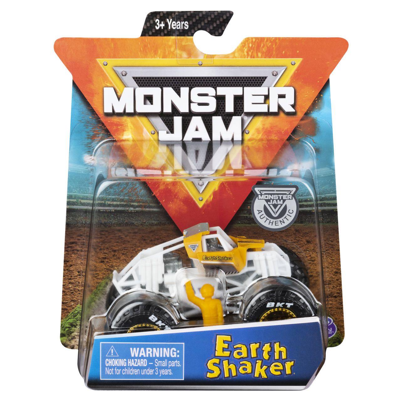 Monster Jam Truck - Earth Shaker - Escala 1:64 - Original