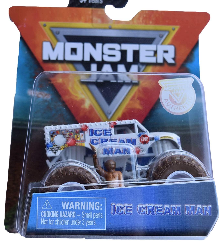 Monster Jam Truck - Ice Cream Man - Escala 1:64 - Original
