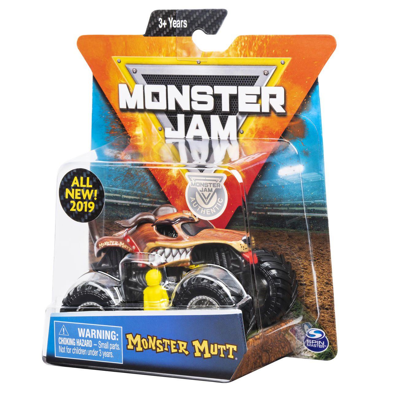 Monster Jam Truck - Monster Mutt - Escala 1:64 - Original