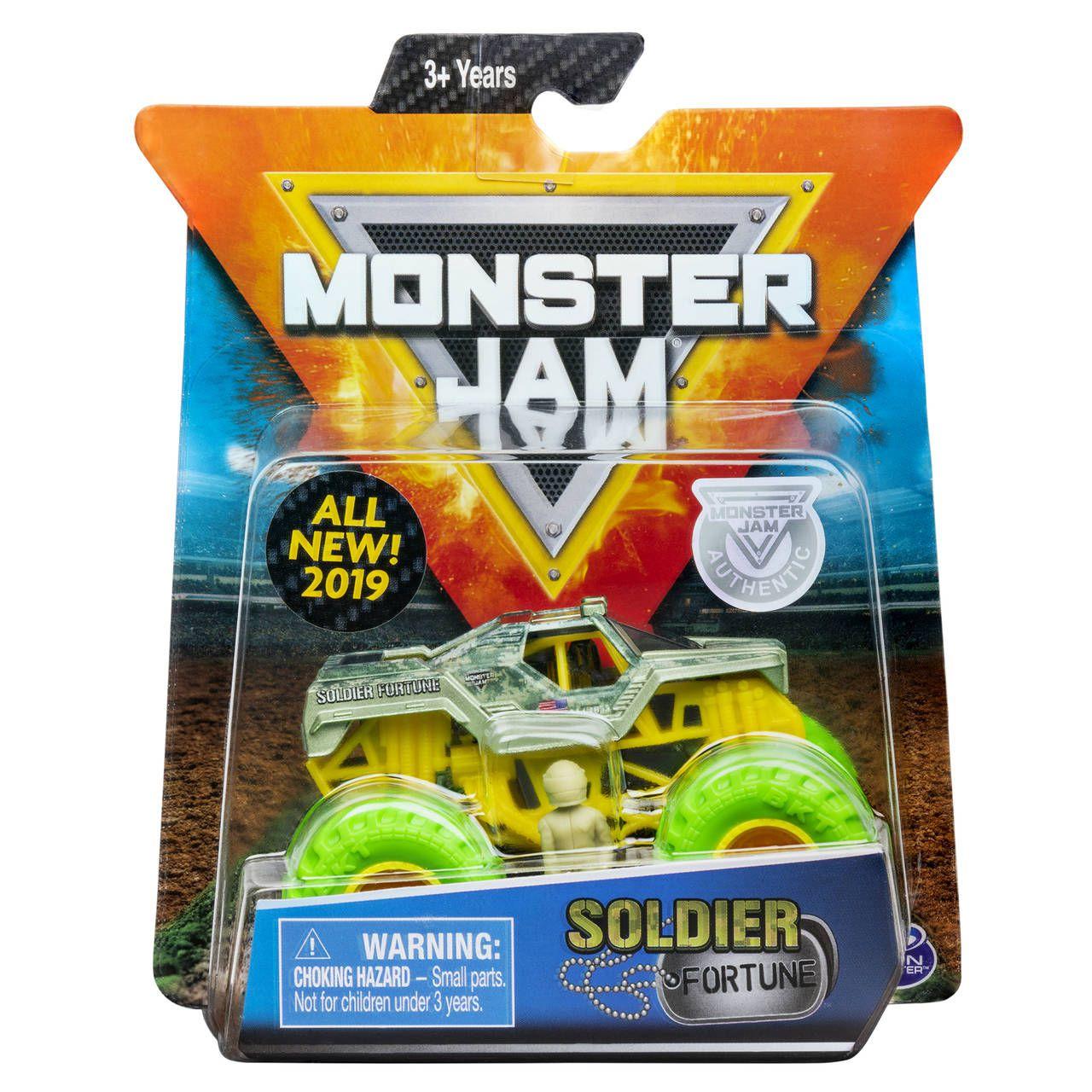 Monster Jam Truck - Soldier Fortune - Escala 1:64 - Original