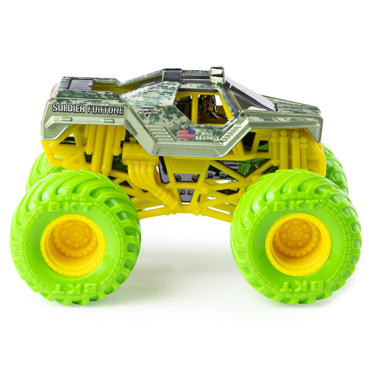 Monster Jam Truck - Soldier Fortune - Escala 1:64 - Original