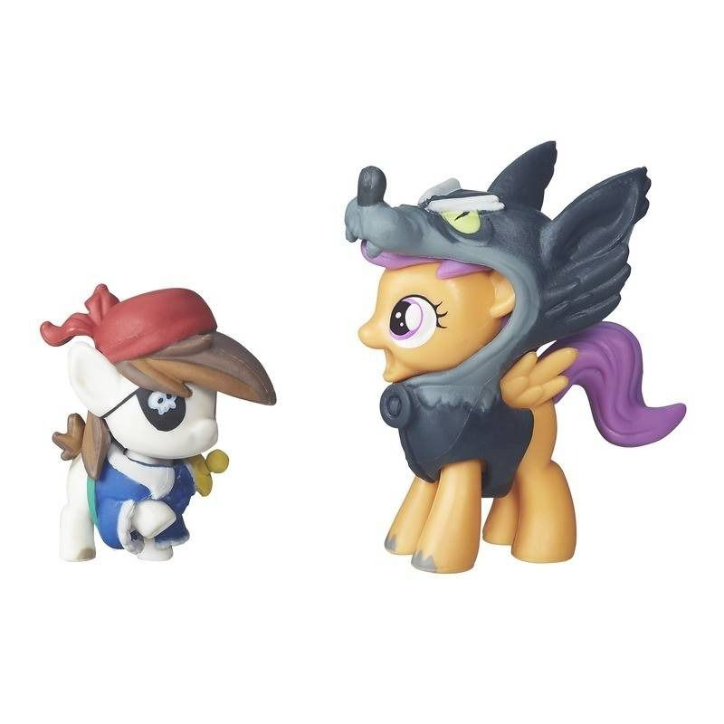My Little Pony - Pip Pinto Squeak e Scootaloo - Hasbro Original B7822  - Japa Colecionáveis