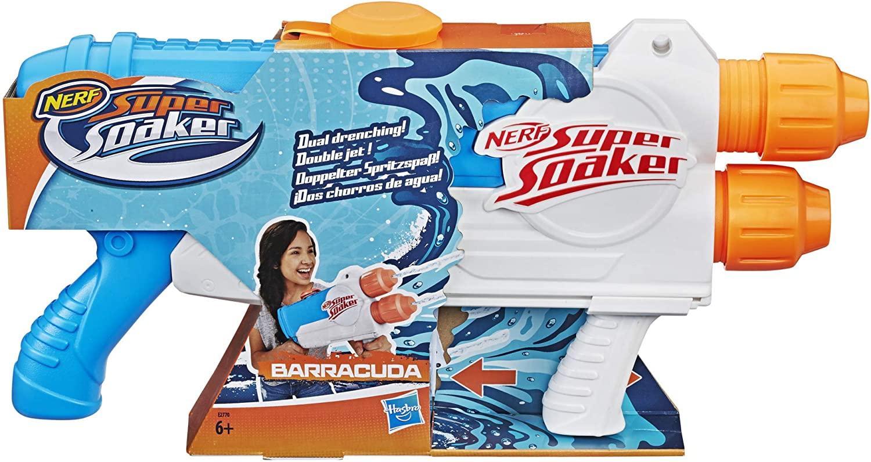 Nerf Lançador de Água - Super Soaker Barracuda - Hasbro