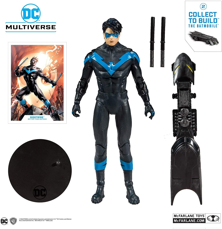 Nightwing Robin - DC Multiverse Action Figure Mcfarlane Toys