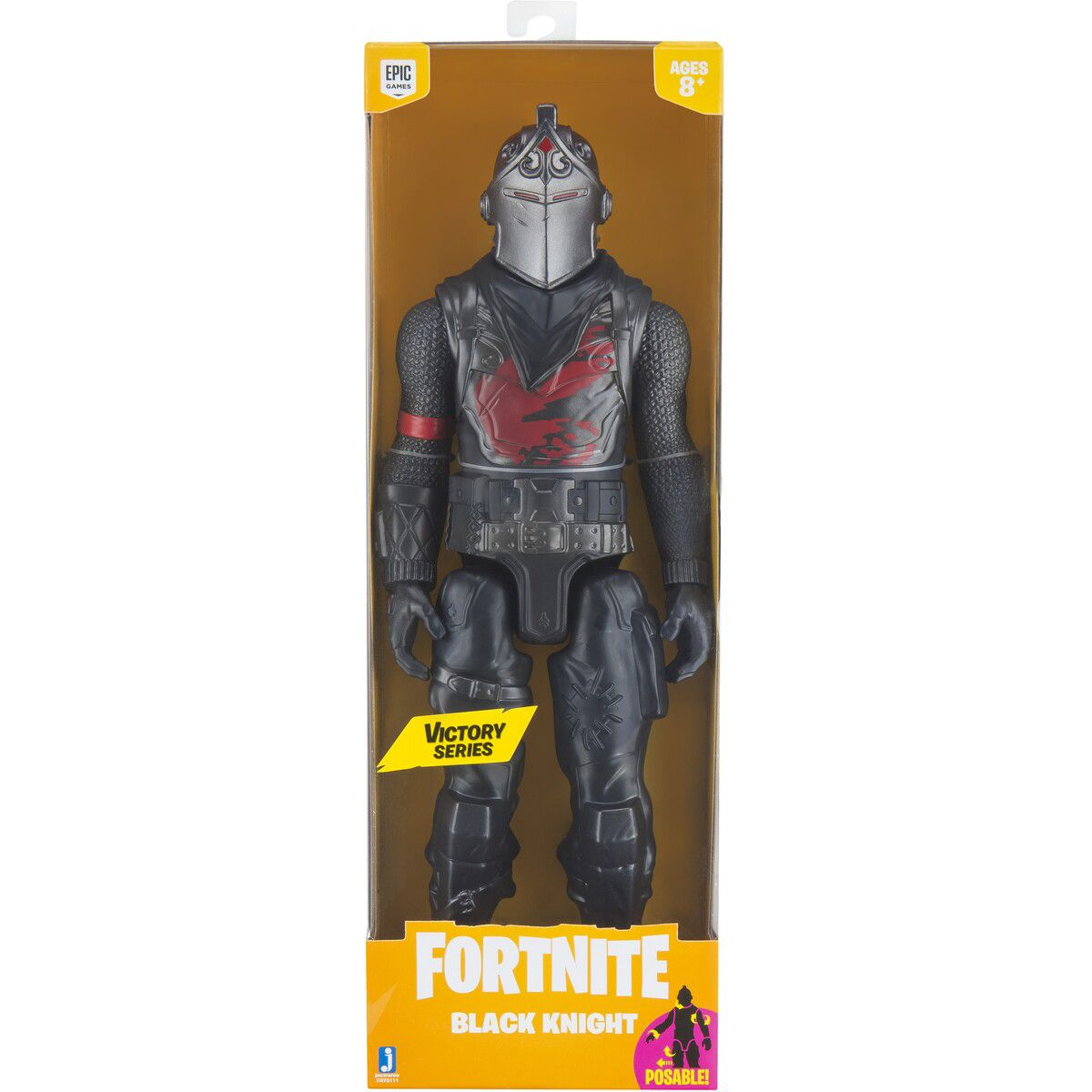 Novo Fortnite - Figura Boneco Black Knight - 30 cm  Original