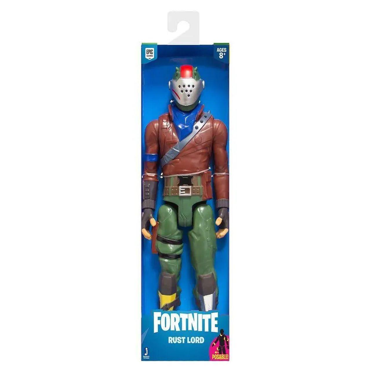Novo Fortnite - Figura Boneco Rust Lord - 30 cm - Original