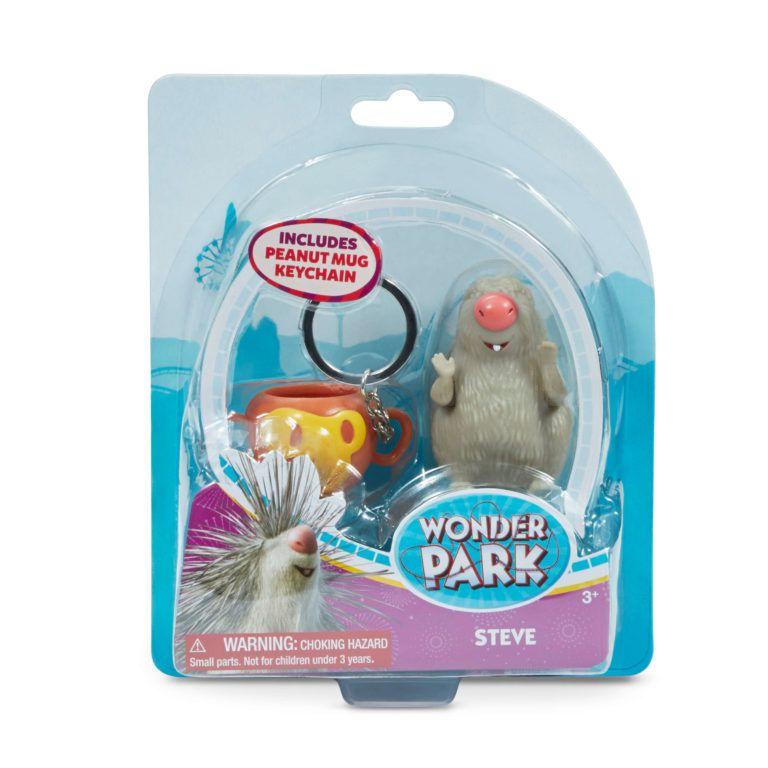 O Parque dos Sonhos - Figura Steve e Caneca Chaveiro - Sunny