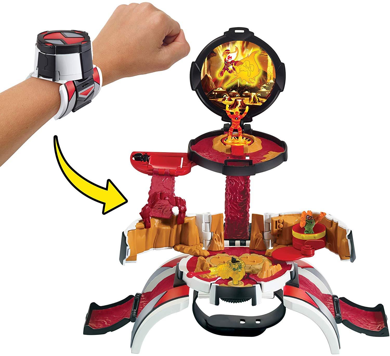 Ben 10 - Omnitrix Playset 2 em 1 Mundo Micro - Chama - Sunny