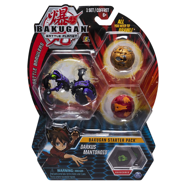 Pack Esfera Bakugan Starter - Darkus Mantonoid - Original