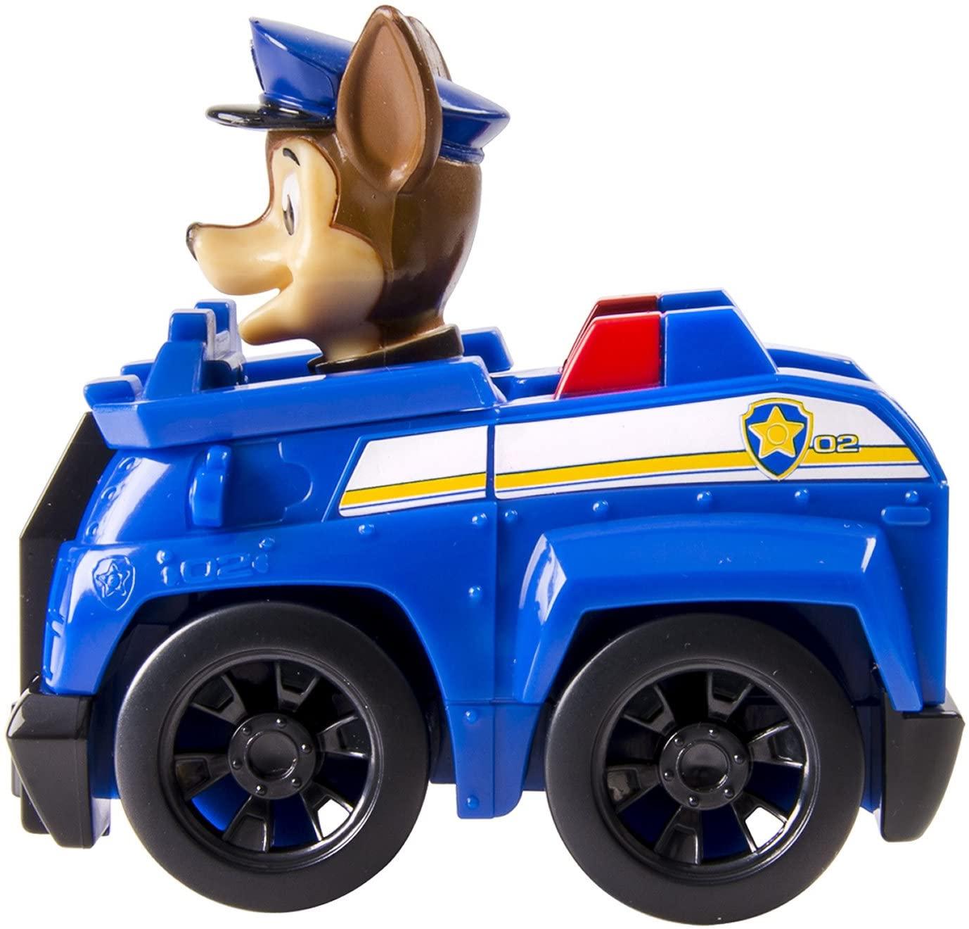 Patrulha Canina - Carrinho Boneco - Chase - 9 cm - Sunny