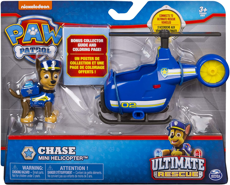 Patrulha Canina Chase - Boneco + Veículo - Ultimate Resgate