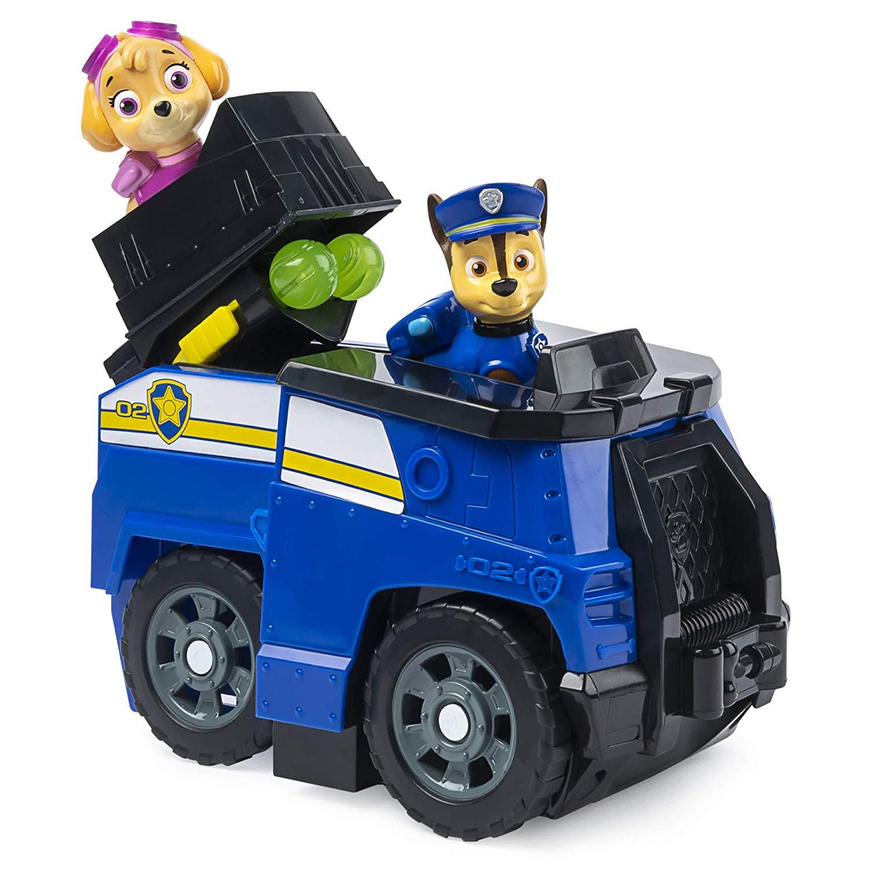 Patrulha Canina Chase - Fração de segundo transformando veículo  - Sunny Original