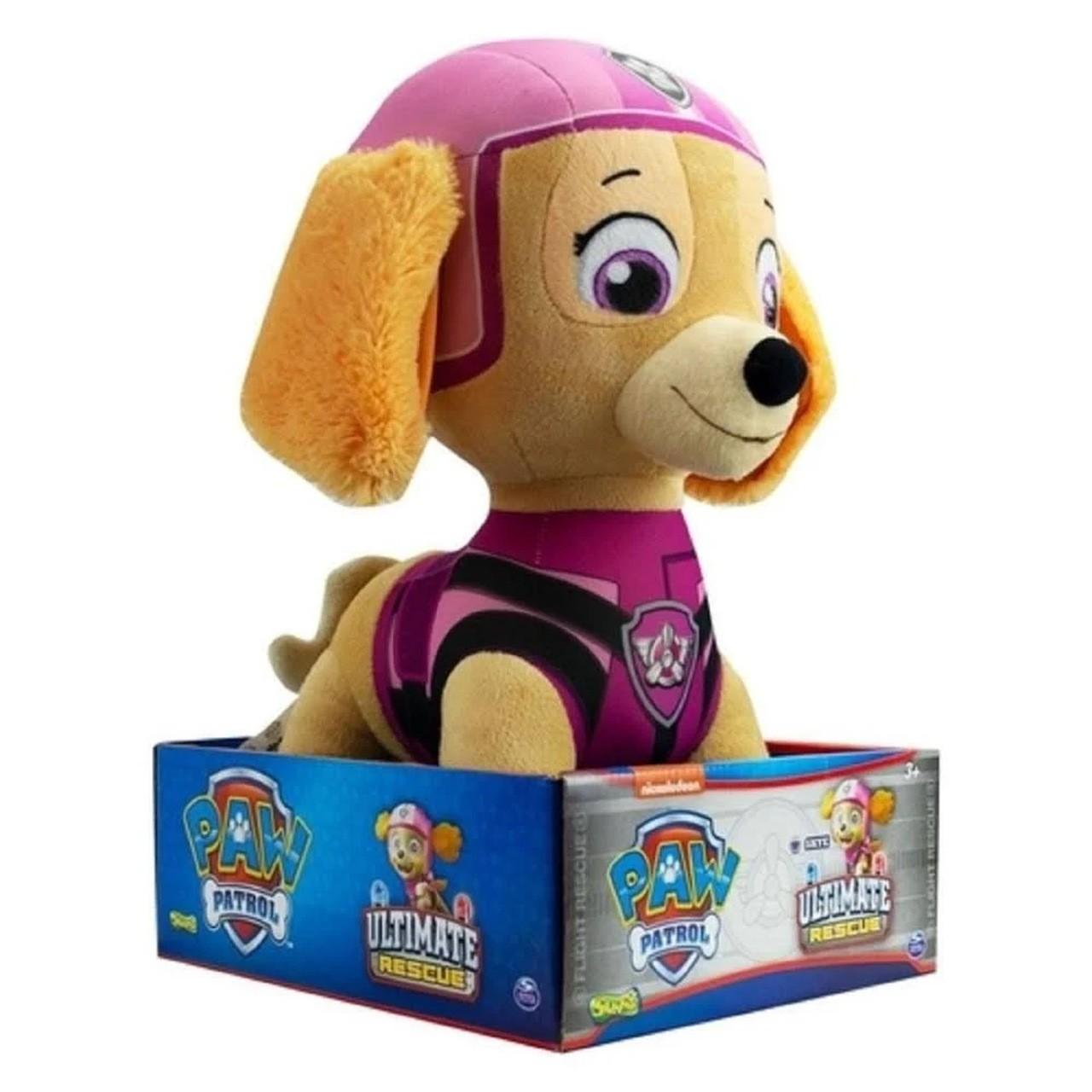Patrulha Canina Pelúcia Resgate Extremo - Skye 37cm - Sunny