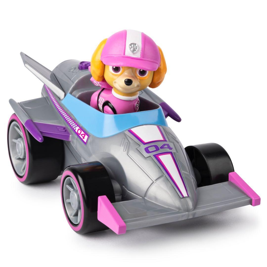 Patrulha Canina - Skye - Boneco + Veículo - Race Go Deluxe