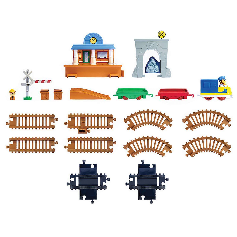 Patrulha Canina - Trem de Resgate Rubble - Bay Railway Sunny